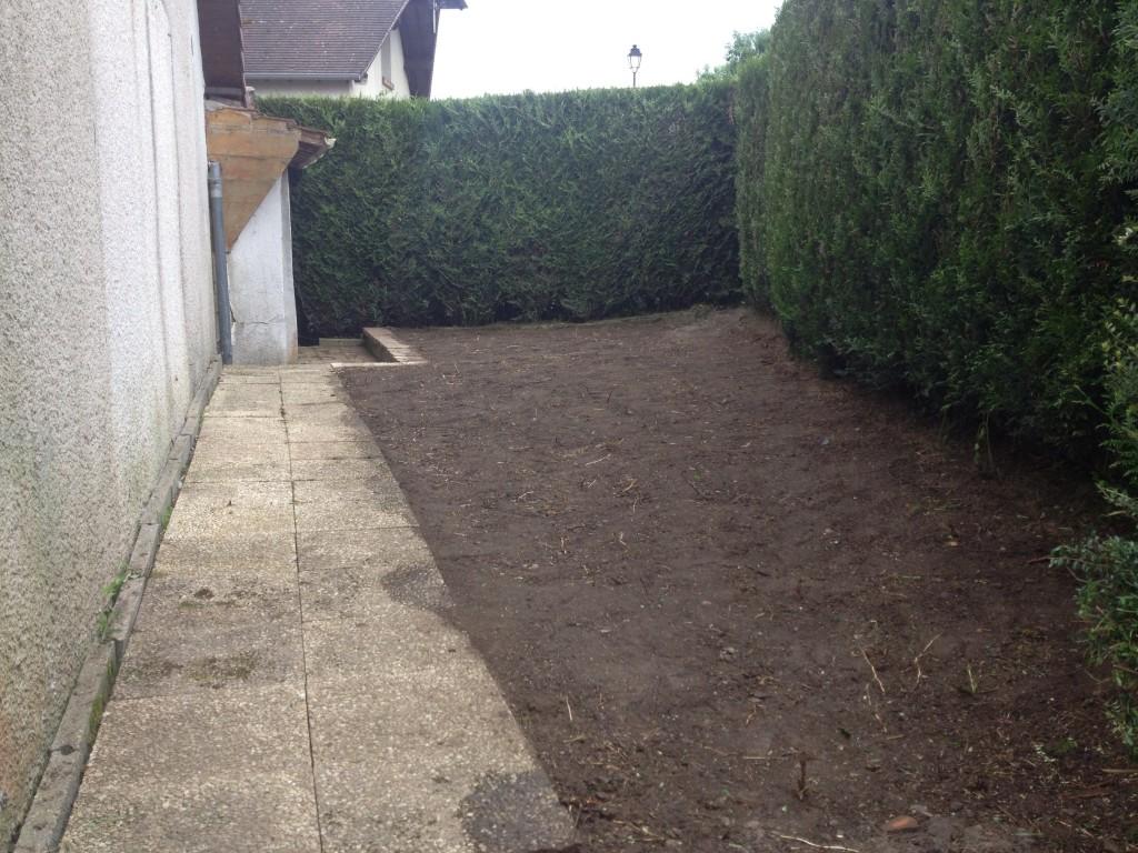 Remise en état du jardin terminé