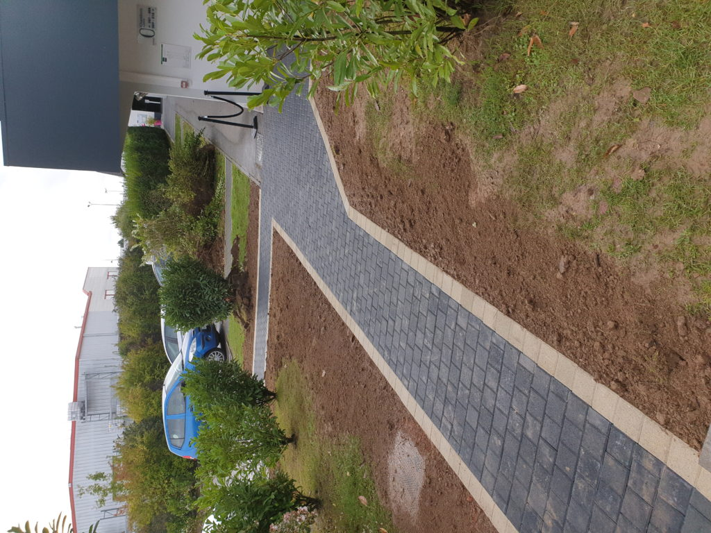 Passage d'accès d'un hôtel